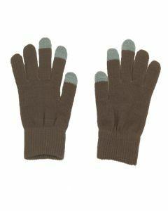 Beige-bruine iGloves Touchscreen handschoenen met Etip vingertoppen