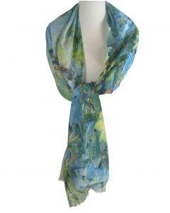 Sjaal met schildering van ''Edgar Degas''