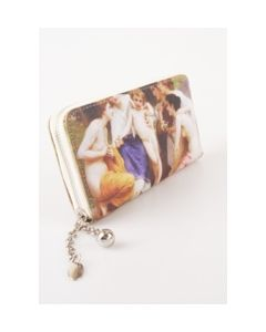 BoFF zip around portemonnee met klassieke romantic print