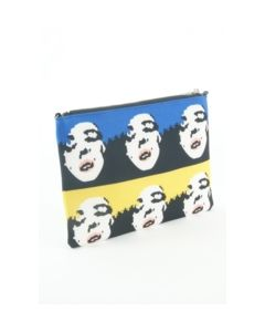 Digital geprinte Pop Art clutch