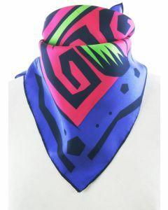 Twill zijden sjaal met sterrenbeeld Weegschaal