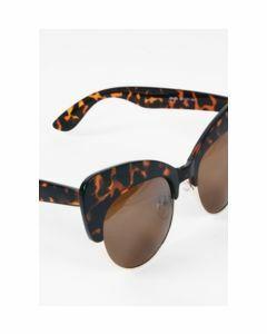 Cat Eye dames zonnebril met luipaard frame