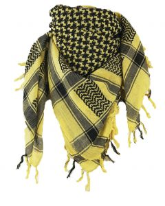 Geel - zwarte PLO / Arafatsjaal