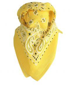 Gele boerenzakdoek / bandana