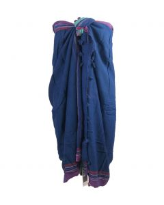 Violet - blauwe Kikoy / Hamamdoek