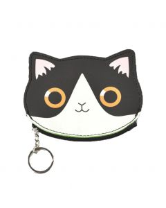 Kitten portemonnee met sleutelhanger