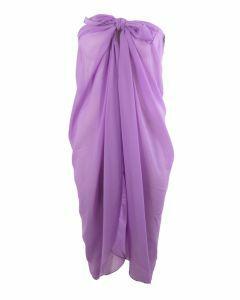 Effen lila paarse kleurige pareo