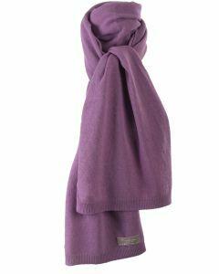 Kasjmier-blend sjaal in mauve