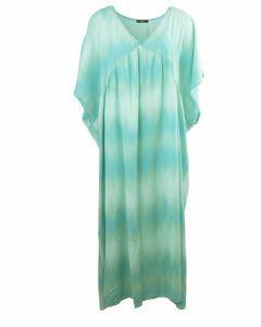 Mintgroene maxi jurk met kleurverloop