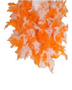 Tweekleurige boa oranje en wit
