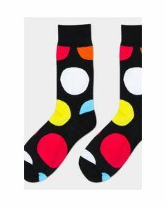 Get happy met trendy stippen  sokken