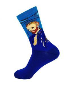 Sokken met een portret van ''Vincent van Gogh''