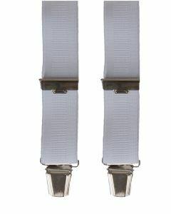 Bretels in effen wit