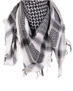PLO sjaal / Arafat sjaal in zwart-wit