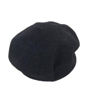 Zwarte gemêleerde alpino baret