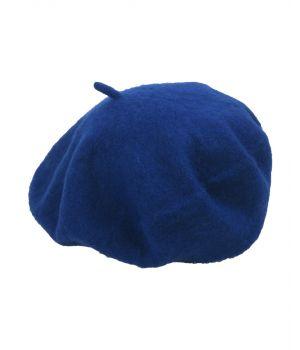 Kobaltblauwe alpino baret
