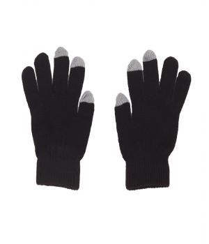 Bruine iGloves Touchscreen handschoenen met Etip vingertoppen