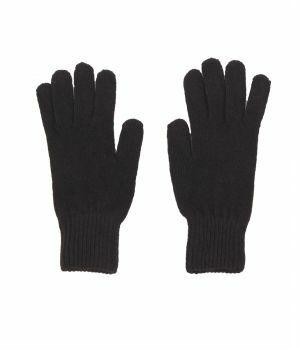 Handschoenen in donkerbruin