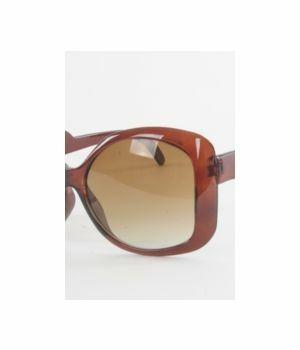 Bruine zonnebril met kleurverlopende glazen
