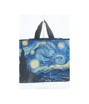 Laptop tas met Vincent van Gogh print