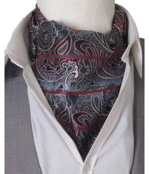 Cravat + pochet met kleurverloop