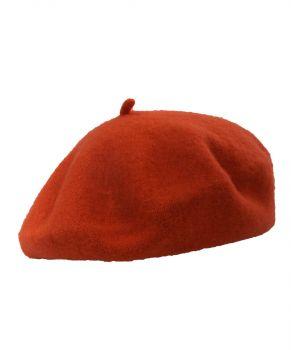 Roest-oranje alpino baret