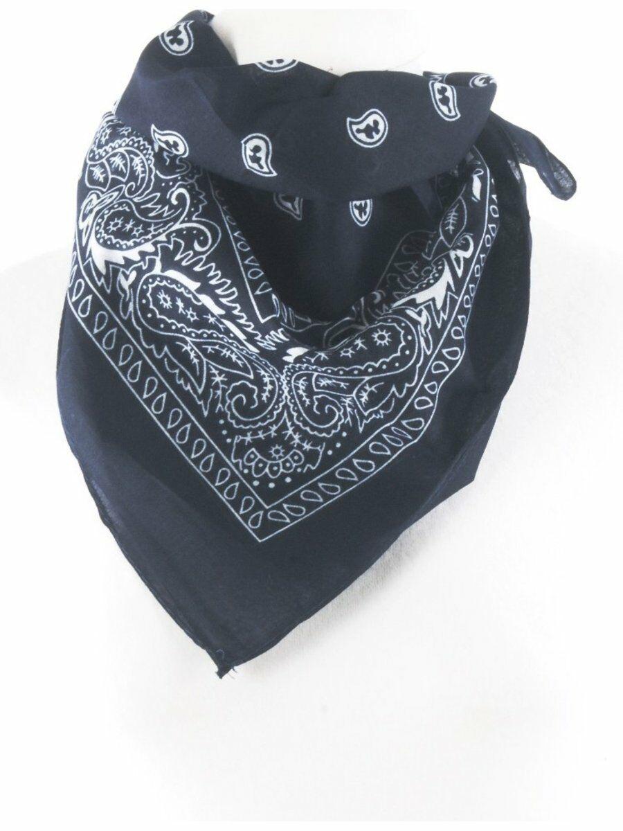 Boerenzakdoek - bandana in donkerblauw