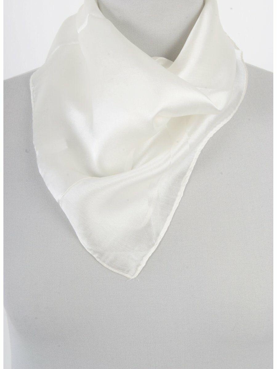 Ivoor satijn zijden sjaal
