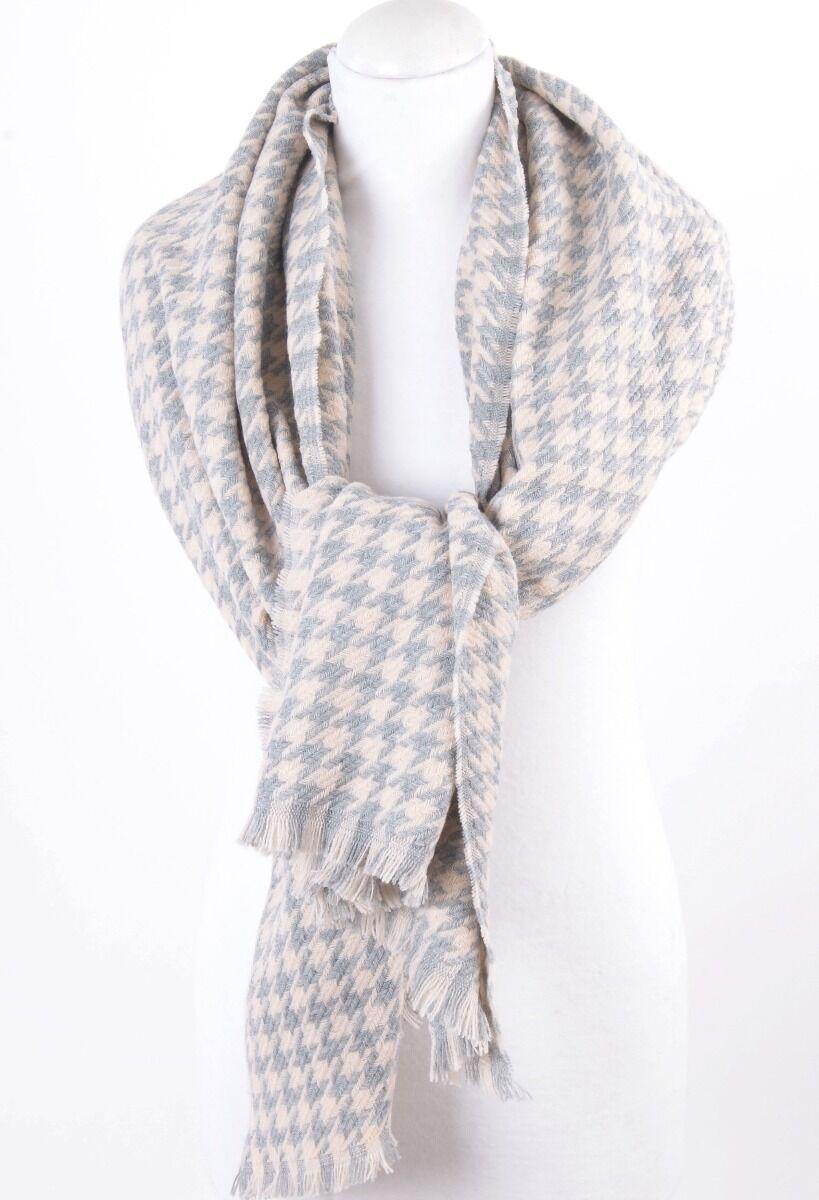 Grijs/roze pied de coq omslagdoek sjaal Dames > Omslagdoeken & Cape's maat  van  snel en voordelig in huis? Hier lukt het direct