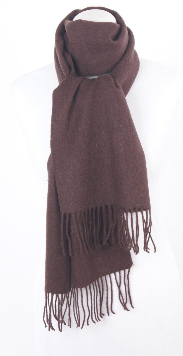 Zachte kwaliteit wollen sjaal met franje