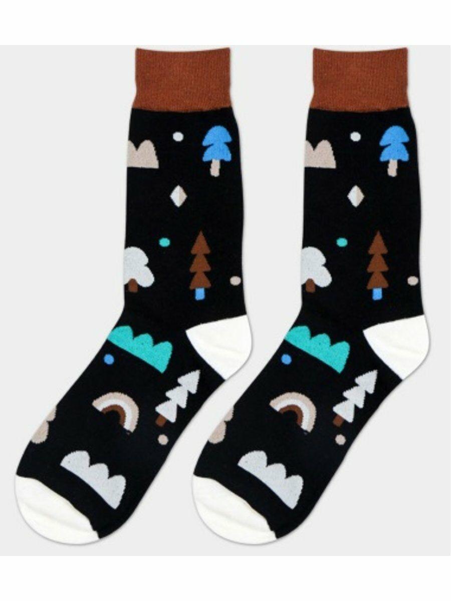 trendy sokken met winterthema